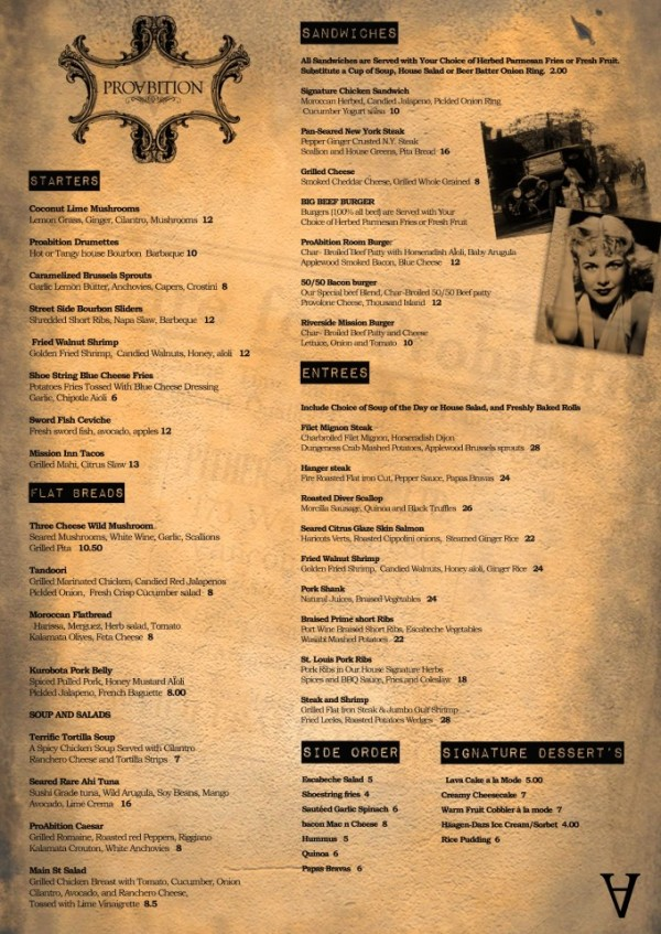 proabition-menu-riverside-ca