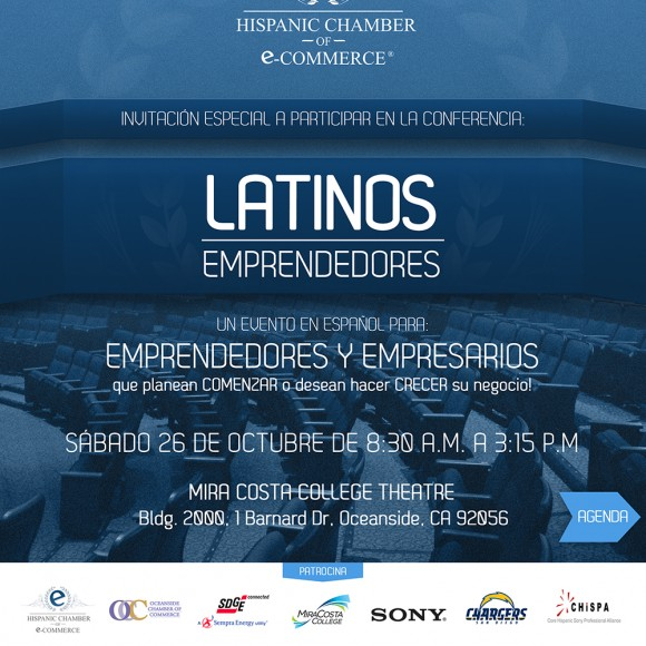 "Conferencia ""Latinos Emprendedores"""