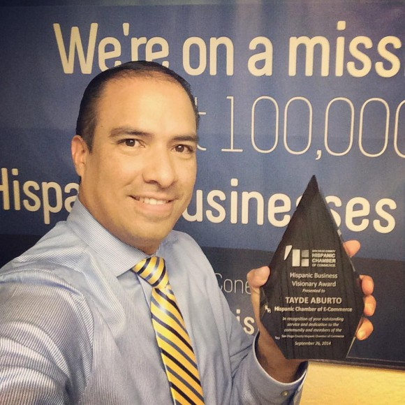 """Hispanic Business Visionary"" Award – SDCHCC"
