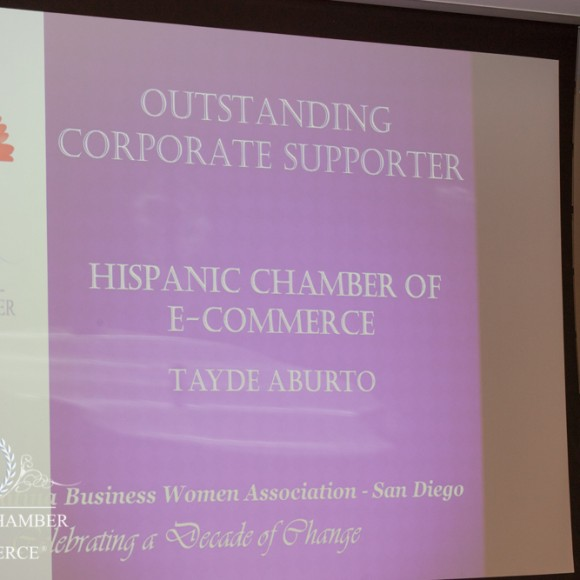 """Outstanding Corporate Supporter"" Award 