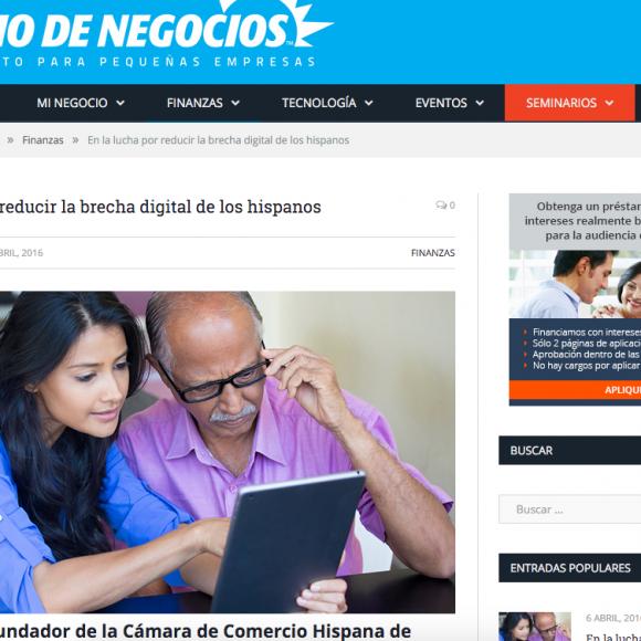En la lucha por reducir la brecha digital de los hispanos